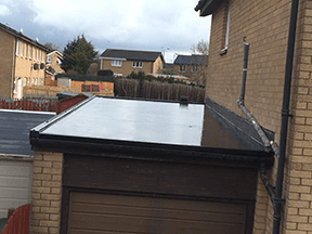 EDPM Firestone Flat Roofing In Glasgow