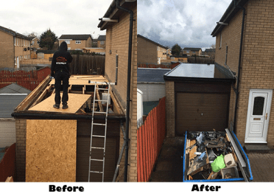 garage roofers in Glasgow