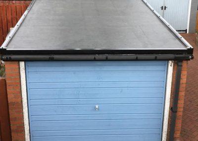 rubber garage roof Glasgow