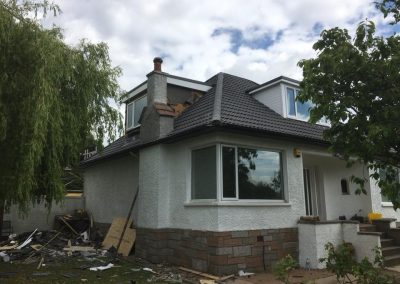 Roof contract Bearsden, Glasgow before