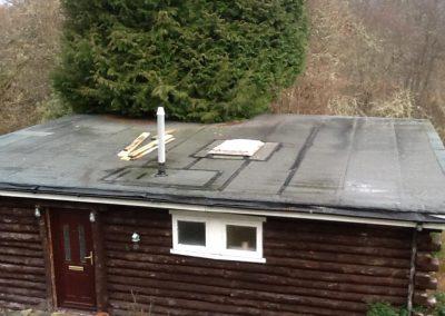 before firestone flat roof Glasgow
