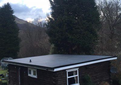 firestone rubber flat roof Glasgow