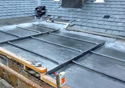 Flat lead roofing Glasgow
