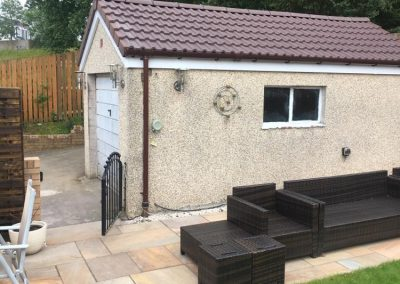 garage roof replacement in Glasgow