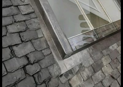 lead roof flashing Glasgow, Scotland